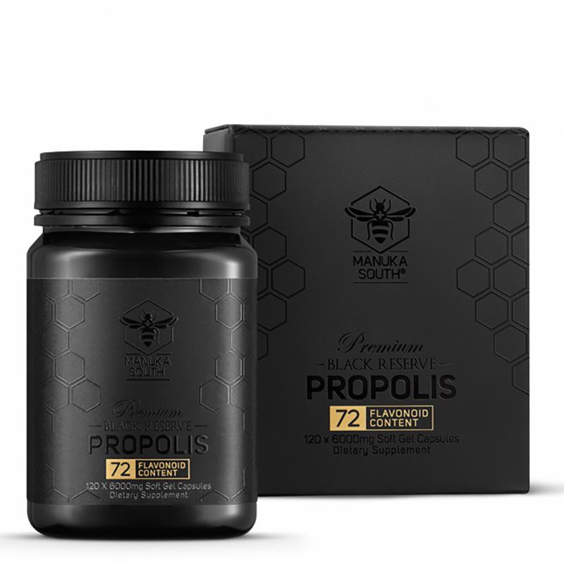 Manuka South Black Reserve Propolis New Zealand antioxidant